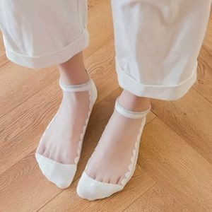 3/$35 Chic White Breathable Low Cut Summer Socks